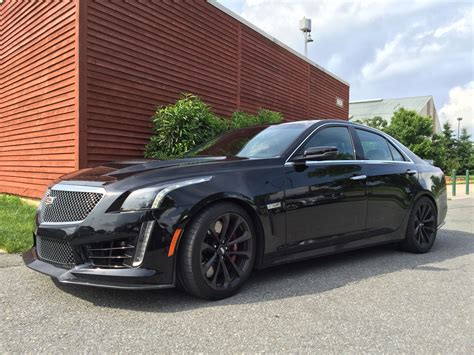 2016 Cadillac Ctsv All Black Everything  Automotive Rhythms