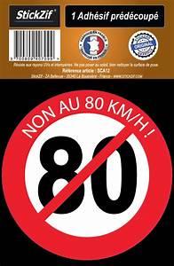 Petition 80 Km H : 1 sticker non au 80 km h ~ Medecine-chirurgie-esthetiques.com Avis de Voitures