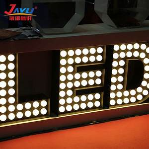 high bright outdoor 3d led letter waterproof vintage With outdoor marquee letters