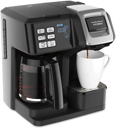 Plus my husband using the other side for is pot of coffee.two coffee makers for the price of one.got to love it. Best Hamilton Beach Coffee Maker 2021 only For Coffee Lovers