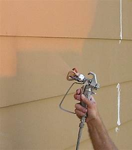 Exterior Spray Painting