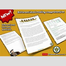 New! Ks2 Differentiated Reading Comprehension  Henry Viii's Wives Grammarsaurus