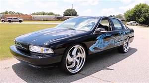 "WhipAddict: 96' Chevrolet Impala SS on MTW ""Blade 5"" 24s ..."