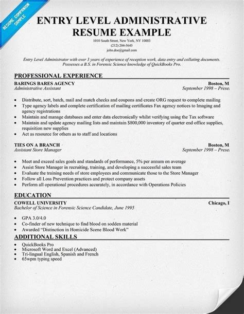 sle resume for entry level 28 images entry level assistant sle resume entry level 28 images 8 sle sales