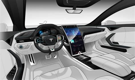 Download Inside View Of The Tesla 3 Pics