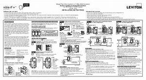 Leviton Vri06 1 Lz Product Manual And Setup Guide
