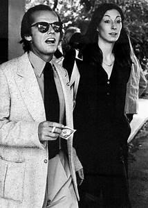Jack Nicholson & Anjelica Huston | Couple | Pinterest