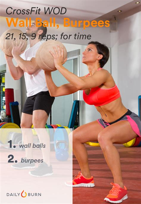 crossfit wod workouts wall burpees ball beginner