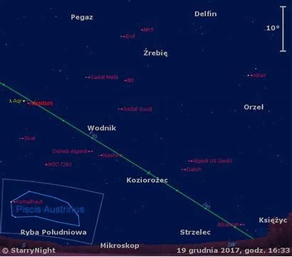 Grudnia Trzecim Tygodniu Niebo Astronet Starry Night