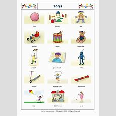 Toys Flashcards In Chinese For Children 玩具