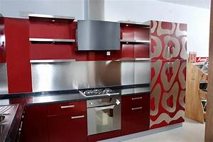 innovative small modular kitchen decor inspirations With kitchen colors with white cabinets with red sox stickers