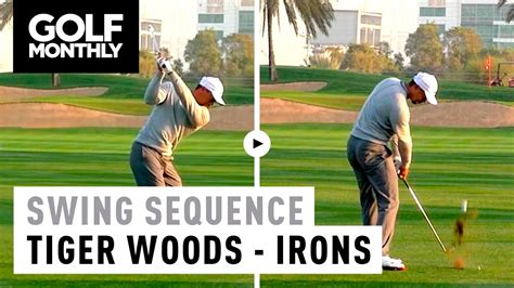 tiger woods swing 2017 tiger woods motion iron swing