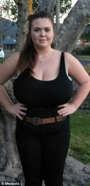 Victoria mother has K cup breasts that keep growing ...