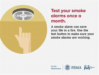 Smoke Safety Fire Alarm Alarms Tips Test