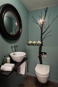 idees de decoration inspirantes pour rendre nos toilettes With quelle couleur pour des toilettes