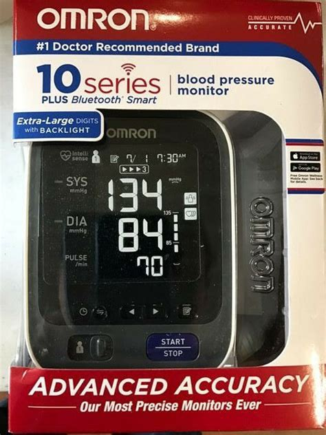 Omron BP786 10 Series Wireless Upper Arm Blood Pressure