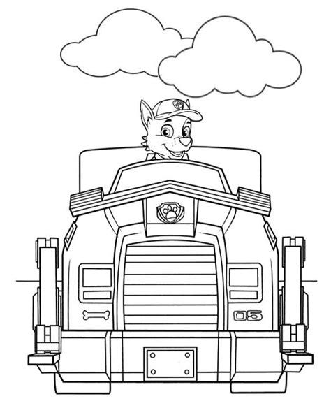 psi patrol obrazek kolorowanka do druku malowanka kolorowanki