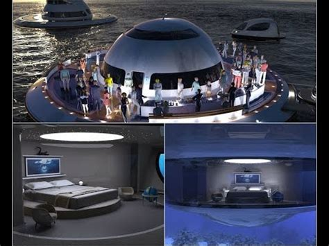 Floating Boat House Ufo by Project Houseboat In The Form Of Ufo