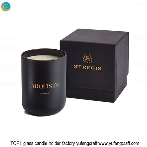 Candle Containers by Luxury Matte Black Glass Jars Glass Candle Containers