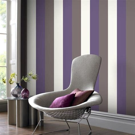 red grey  cream striped wallpaper gallery