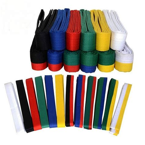 belt colors in karate taekwondo belt karate wrap belt professional