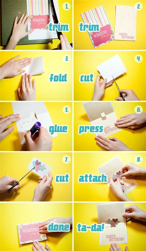 How To Make A Popup Card  Click For Larger! Holiday