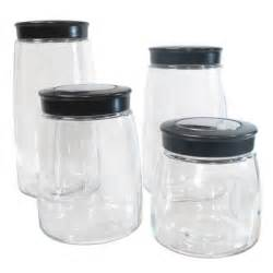 glass kitchen canister set 32 glass kitchen canister sets house decor ideas