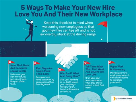 Five Tips To Make Your New Hire Love You And Their New
