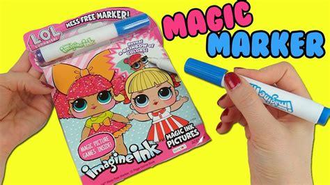 lol surprise imagine ink coloring book  magic marker