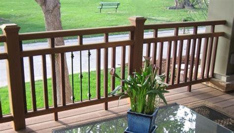 stock metal baluster porch handrail deck railing