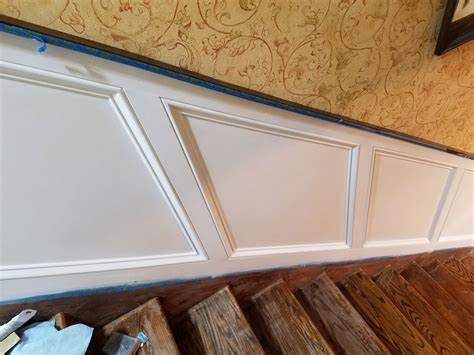 Wainscoting Paint by Best Way To Paint Wainscoting With Bm Advance Painting
