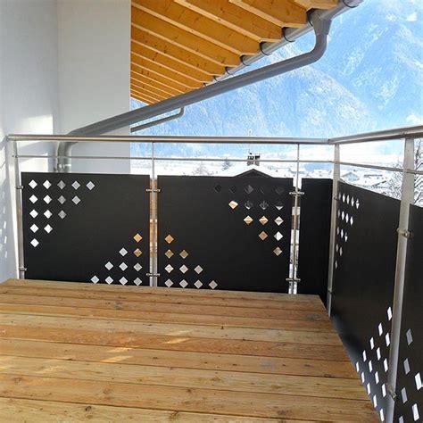 rambarde d escalier ext 233 rieur remplissage t 244 le perfor 233 e ou filet inoxdesign