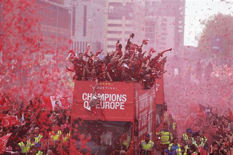 Liverpool's Champions League Victory Parade - Liverpool Echo