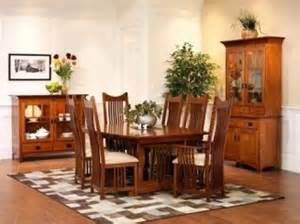 mission style dining room set mission style dining room set decor