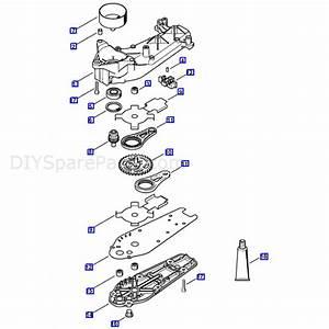 Stihl Hs 81 T Petrol Hedgetrimmer  Hs81t  Parts Diagram  Gear Head