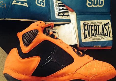 Andre Ward's Air Jordan 5 Inspired Boxing Shoe