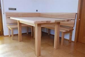 Tisch Und Bank : tisch und bank f r das esszimmer aus esche einrichtung pinterest esszimmer b nke und tisch ~ Eleganceandgraceweddings.com Haus und Dekorationen