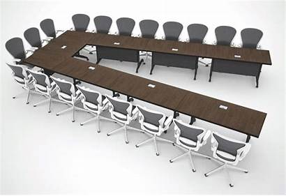 Tables Modular Conference Table Folding Different Shapes