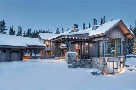 Modern : Breathtaking Mountain Modern Home Deep In The Montana Forest