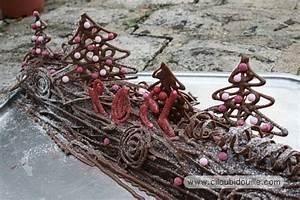 Decoration Pour Buche De Noel : deco buche de noel en bois ~ Farleysfitness.com Idées de Décoration