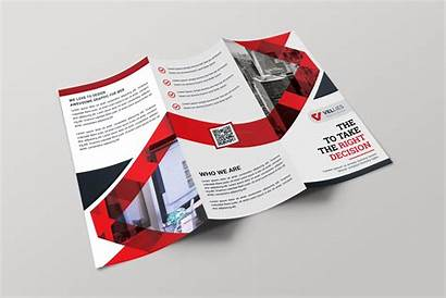 Brochure Professional Fold Tri Template Eps Templates