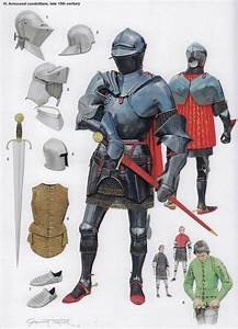 Armored Italian Condotierre Late 15th Century  U2013 Knight