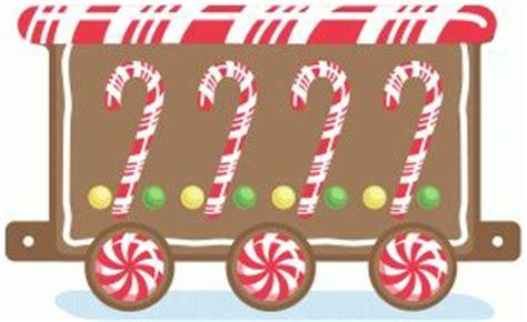 gingerbread train cliparts   clip art