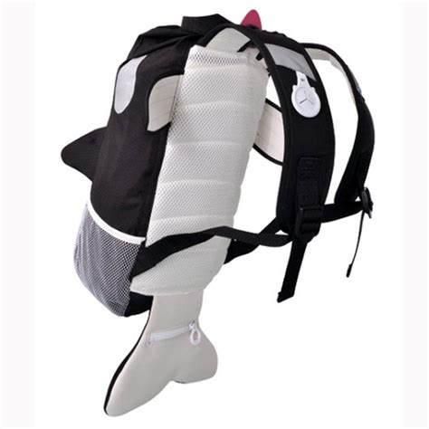 trunki paddlepak willy the killer whale backpack bag free p p ebay