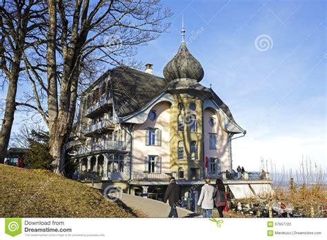 Bern, The Building Towering Over Gurten Park Editorial