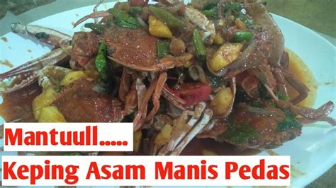 Demikian resep kepiting asam manis yang dapat saya berikan untuk anda, dan berikut adalah beberapa saran penyajian untuk masakan kepiting. Resep Kepiting Asam Manis Pedas - YouTube