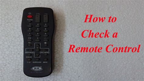 Life Hack How Check Remote Control Using