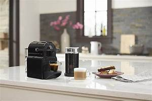 Machine Nespresso Promo : nespresso inissia espresso machine with aeroccino milk ~ Dode.kayakingforconservation.com Idées de Décoration