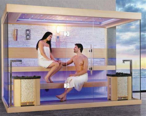 ein mann sauna sauna mit glasfront 52 ultramoderne designs archzine net