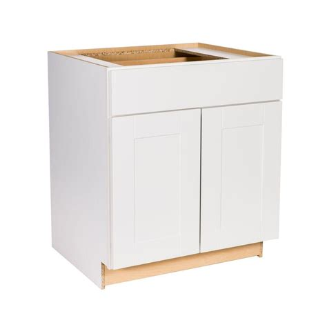 home depot base cabinets kitchen hton bay princeton shaker assembled 30x34 5x24 in base 7062